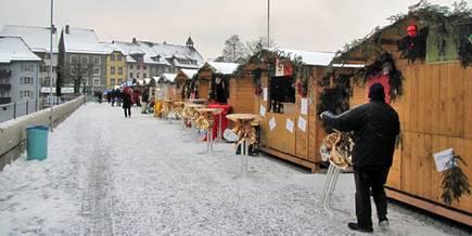 Weihnachtsmarkt Laufenburg.Fricktal24 Ch Weihnachtsmarkt Laufenburg